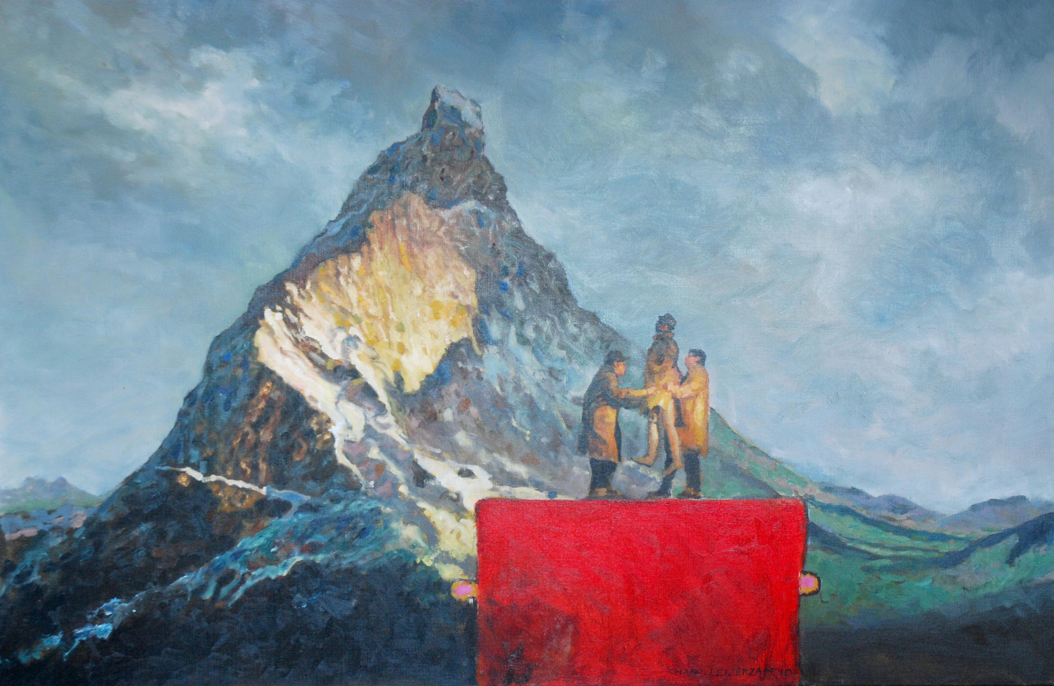 Hans-Leijerzapf-schilderij-doek-canvas-Thans_til_ik_u_op-B-100-150-cm